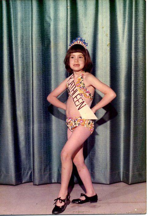 Kathleen Hanna at a young age. Then she formed Bikini Kill. No wonder!