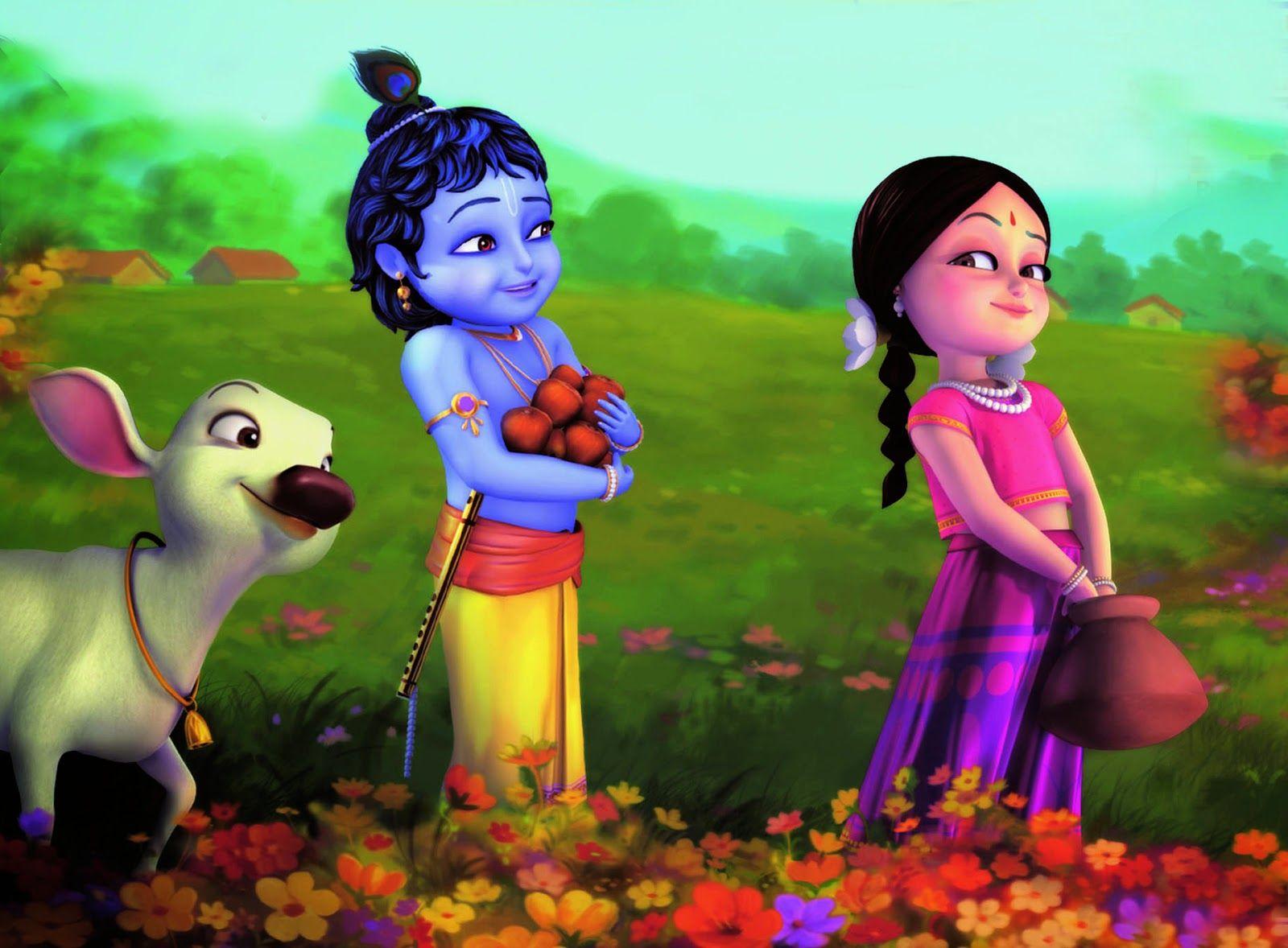 Disney Hd Wallpapers Disney Cartoon Little Krishna Lord