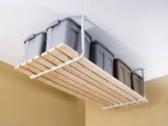 Resultat De Recherche D Images Pour Rangement Au Plafond Poulie Rangement Au Plafond Etagere Rangement Garage Diy Rangement
