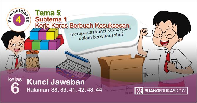 Lengkap Kunci Jawaban Buku Tematik Tema 5 Kelas 6 Wirausaha Kurikulum 2013 Revisi Buku Kurikulum Buku Pelajaran