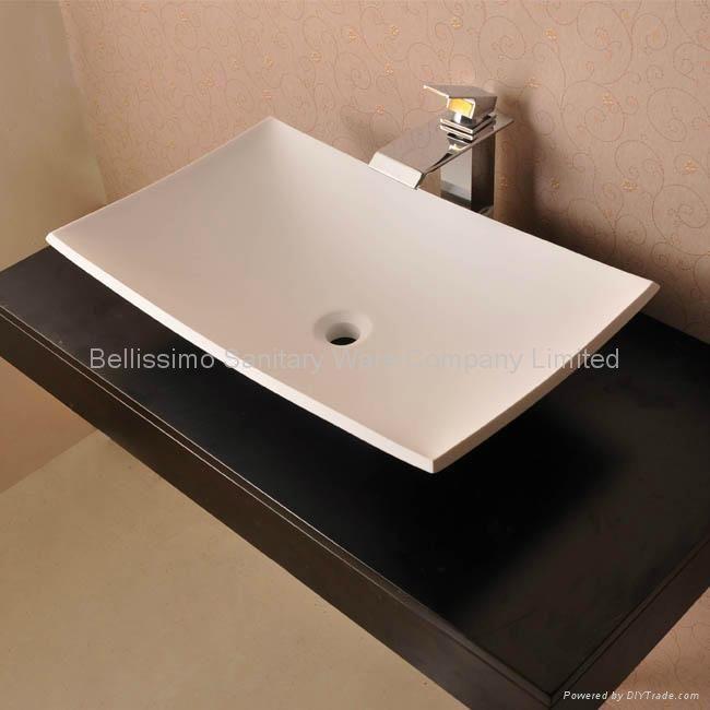 Counter Top Wash Basin Fixing