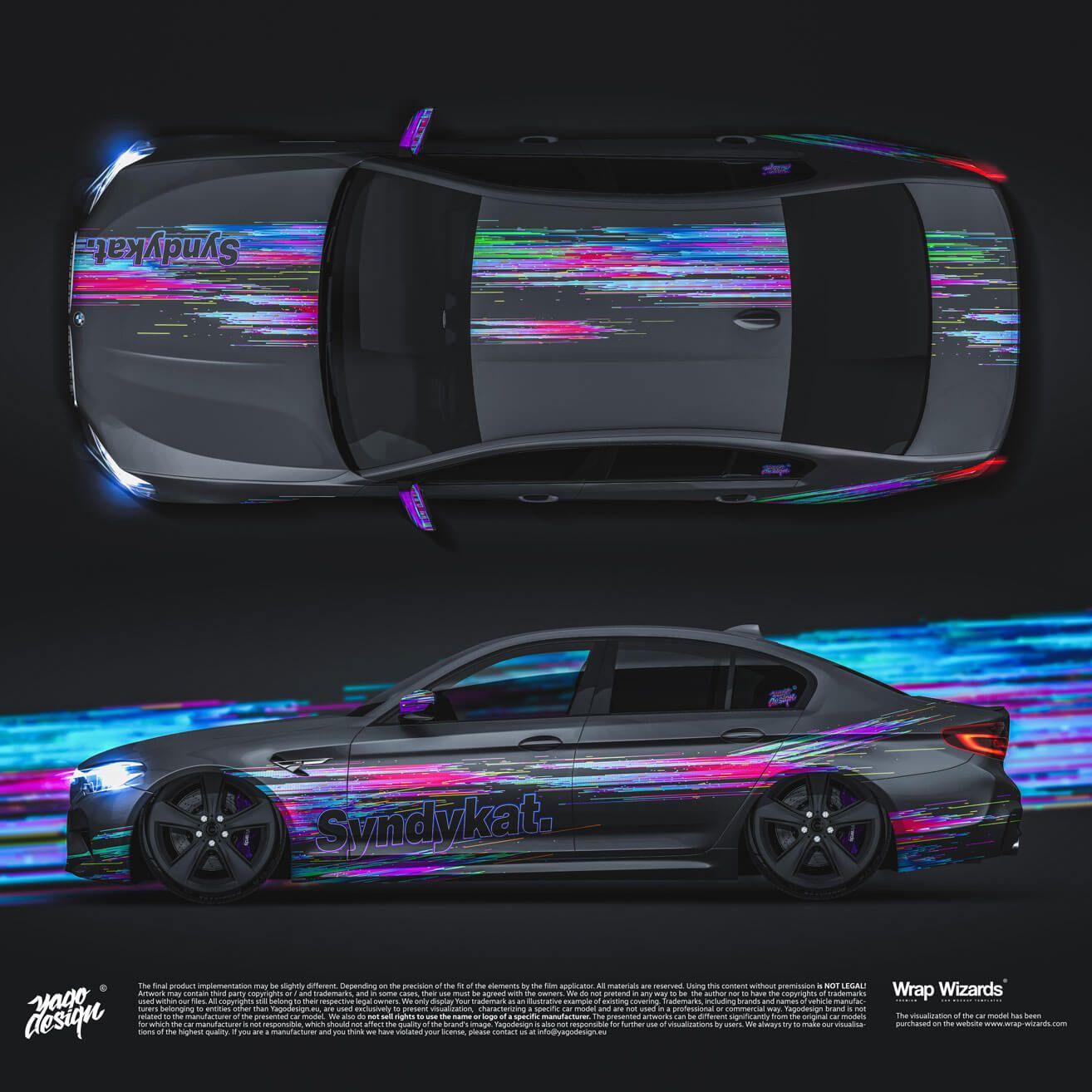 Bmw M5 F90 By Yagodesign Syndykat In 2020 Mit Bildern Folierung