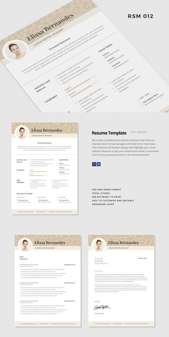 Resume Template -  - most professional resume template
