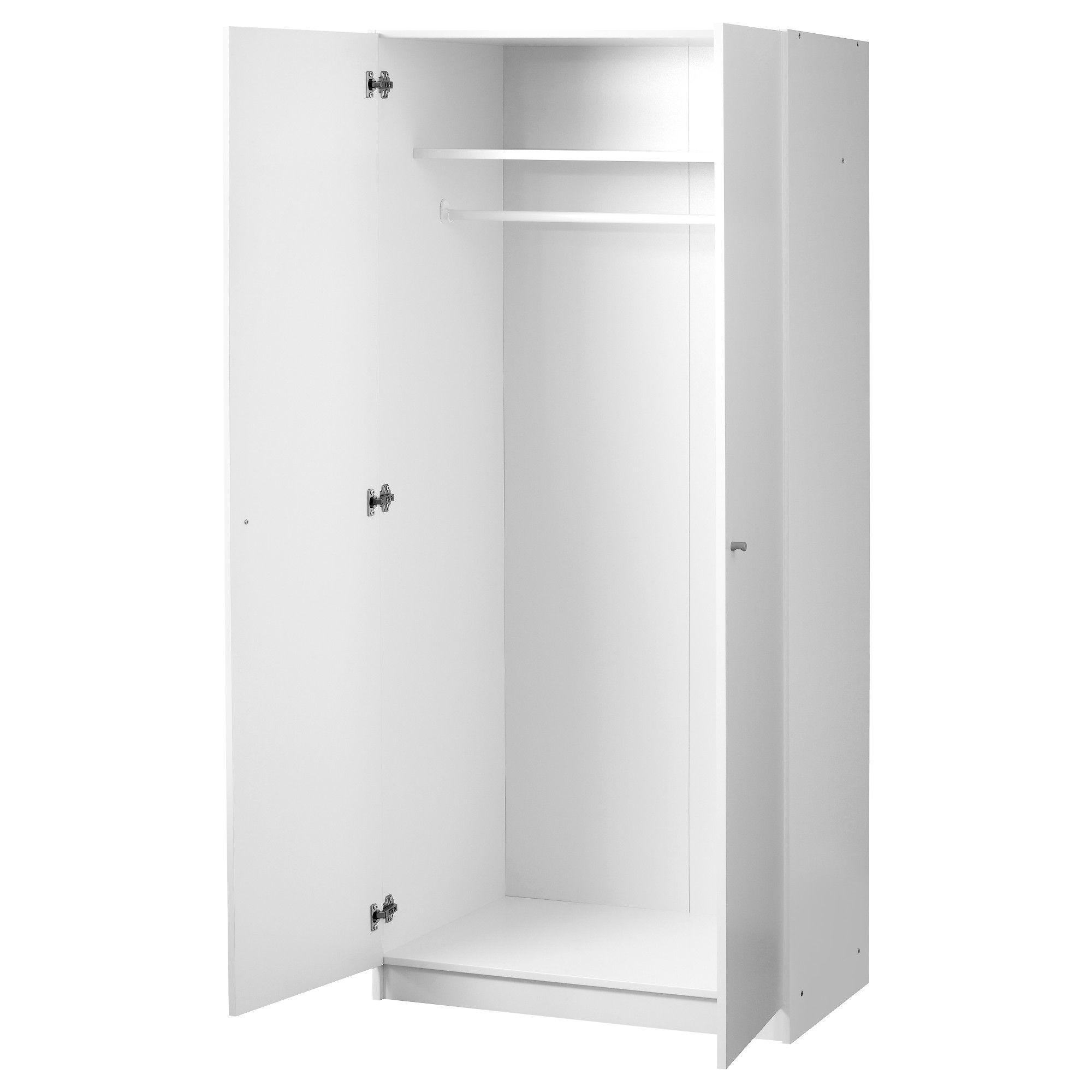 BOSTRAK Wardrobe White IKEA