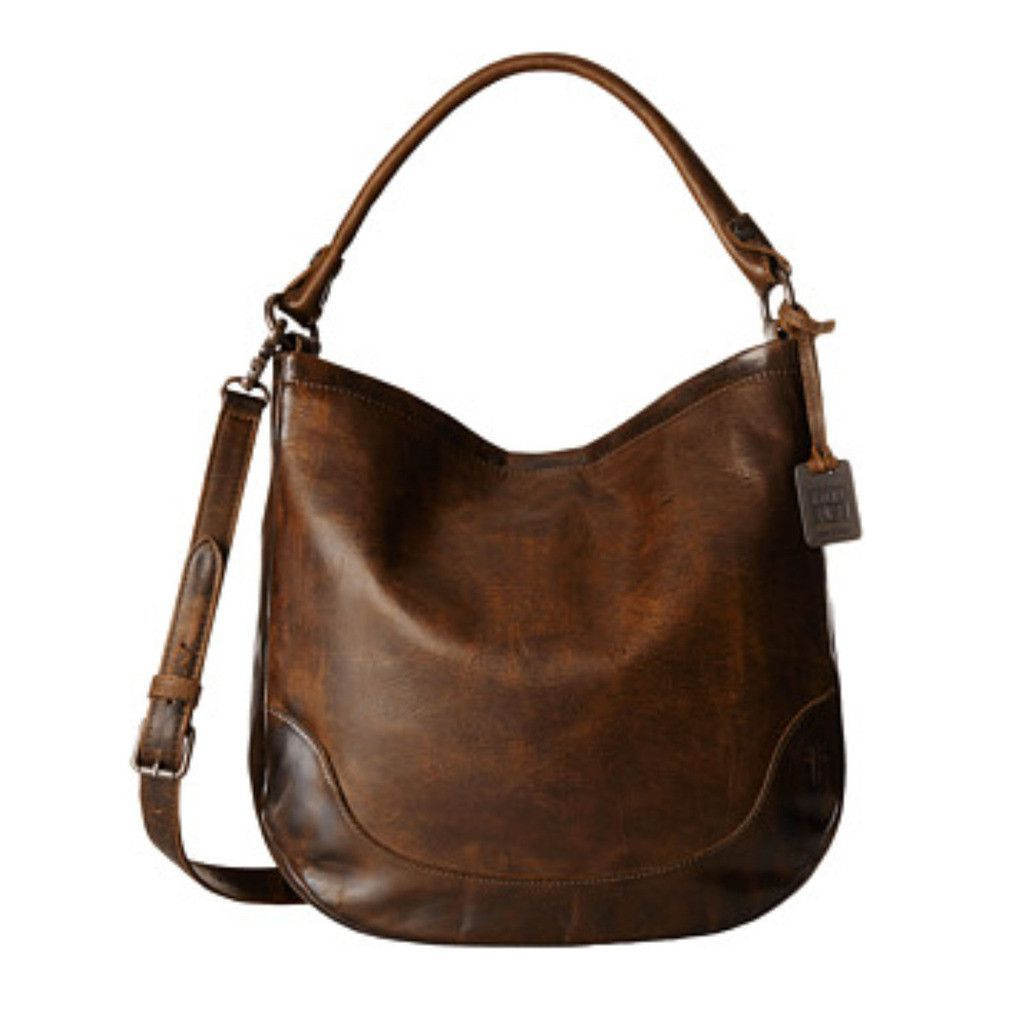 Frye Melissa Tote Bag Dark Brown DB149  669123254233