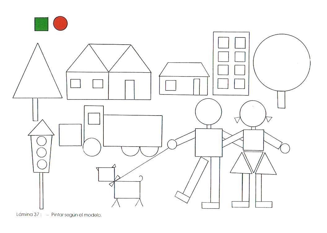 Para Formar Dibujos Con Las Figuras Geometricas De La Web Imagenes Con Figuras Geometricas Figuras Geometricas Para Ninos Figuras Geometricas Para Preescolar
