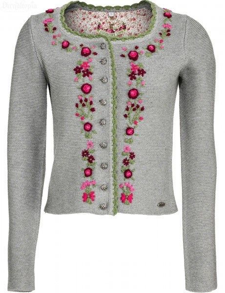 92ce4d86e3 Trachtenjacke Angelina in Grau, Lila, Pink und Grün | Sweaters ...