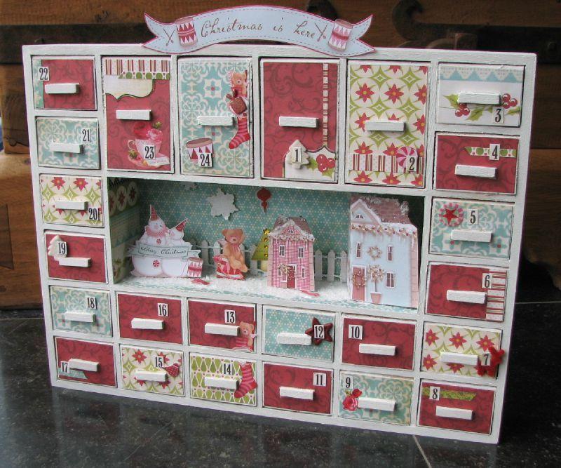 un calendrier de l 39 avent notre c t clean calendrier de l 39 avent calendar advent et pink. Black Bedroom Furniture Sets. Home Design Ideas