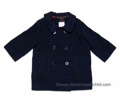 fde391880 Florence Eiseman TF Laurence Boys Classic Navy Blue Fleece Double ...