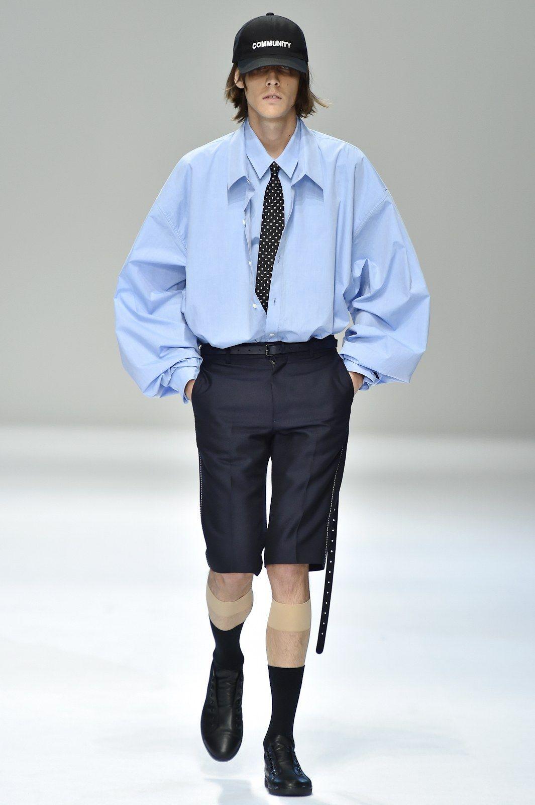 Shirt design for man 2017 - Dressedundressed Tokyo Spring 2017 Fashion Show Men Fashionfashion Designfashion