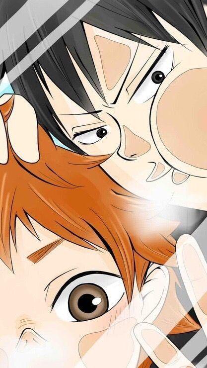 Hinata and Kageyama - HQ Lockscreen