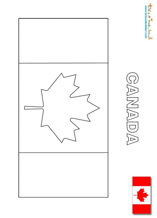 Coloriage du drapeau du canada t te modeler - Coloriage drapeau portugal ...