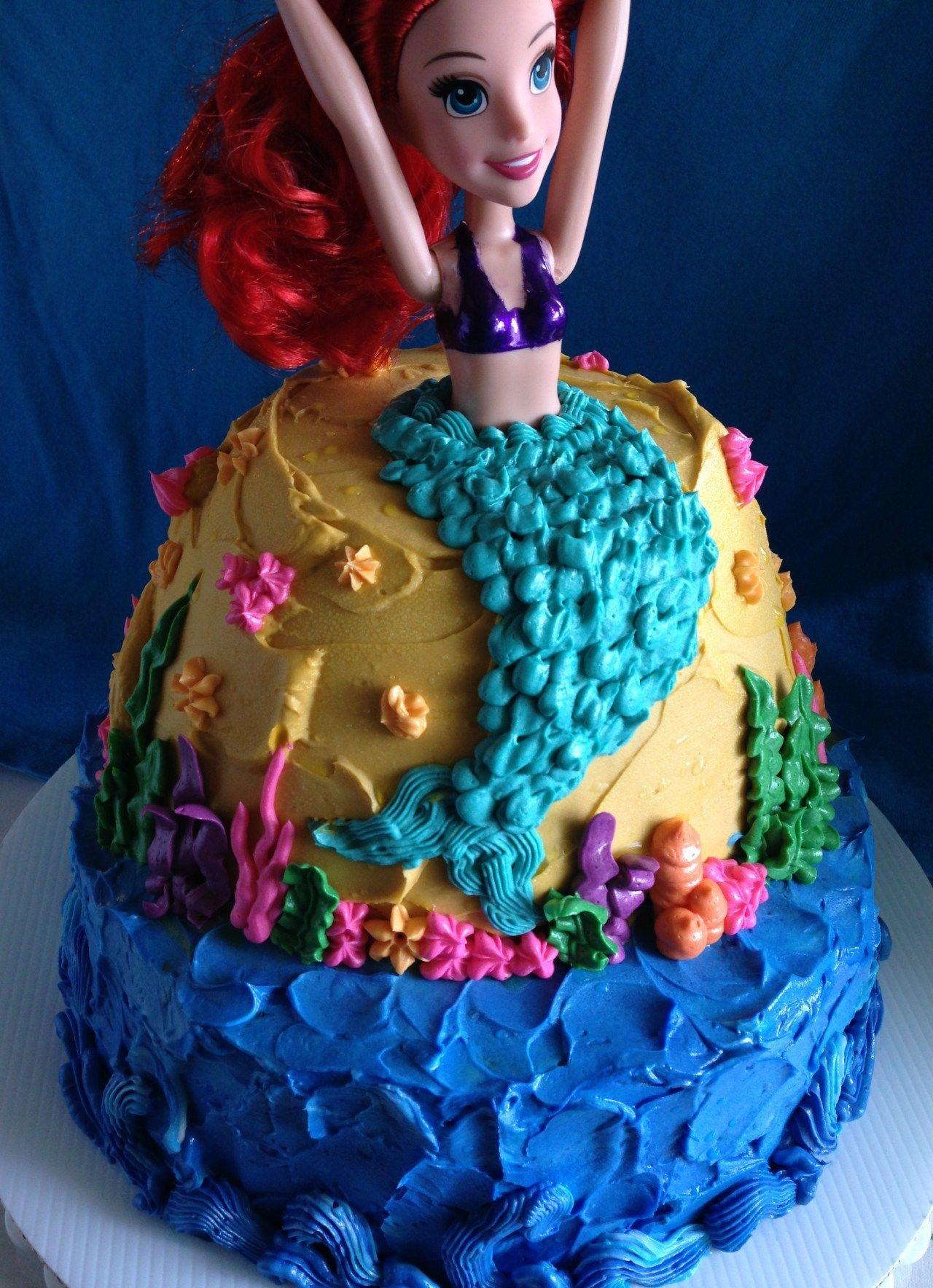 How to make an awesome mermaid cake epic sweet mermaid