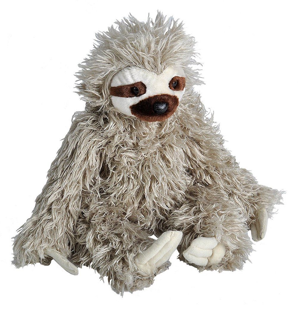 Wild Republic 3 toed Sloth. Find this and many more at www