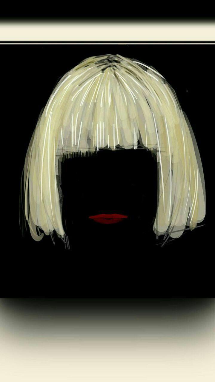 Art Inspo Drawing Iphone Wallpapers Sia Wig Fan Digital Ios 7 Pop Songs Maddie Ziegler