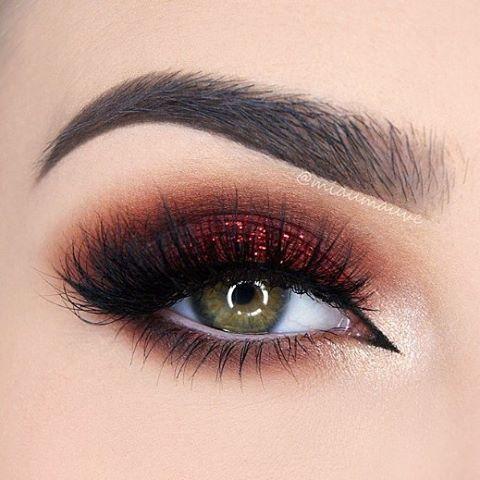 Miaumauve2 Shows Us How To Rock A Red Smoky Eye She Used