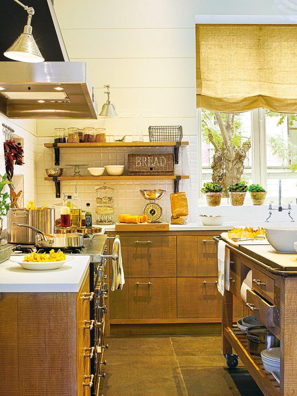 Una cocina de campo en la ciudad cocinas for Cocinas de campo
