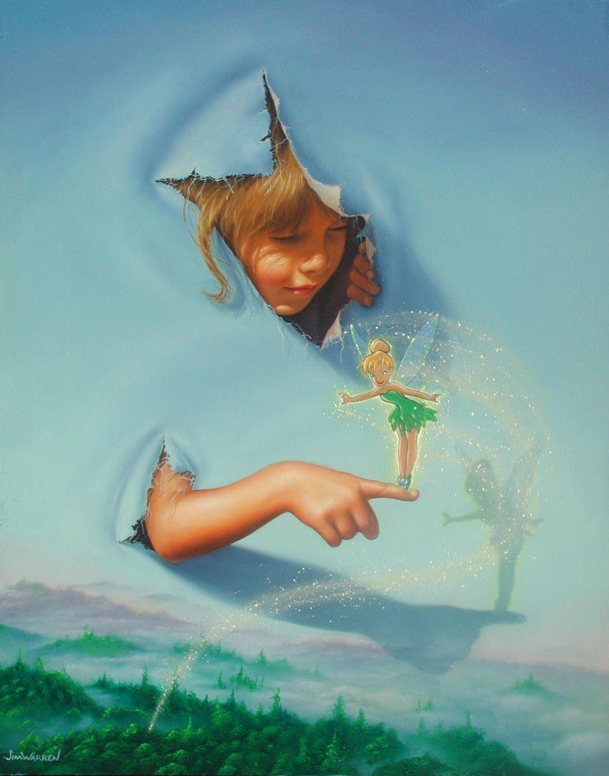 Jim Warren   Pictures to paint, Unusual art, Surreal art