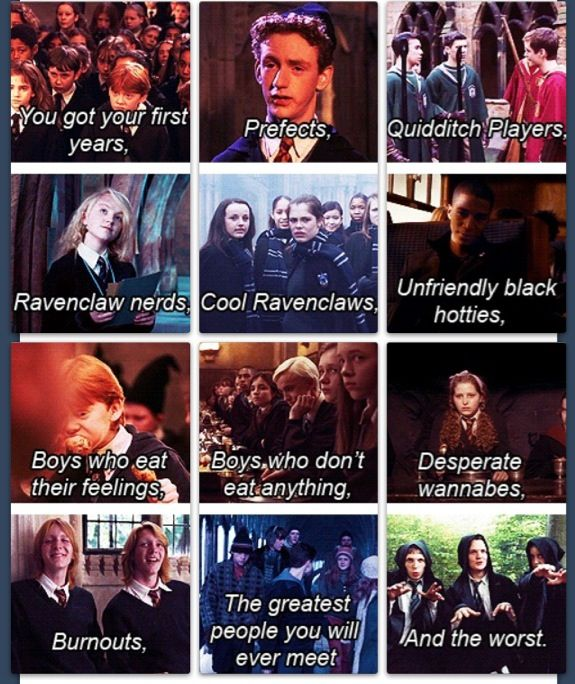 Harry potter and mean girls, best combo