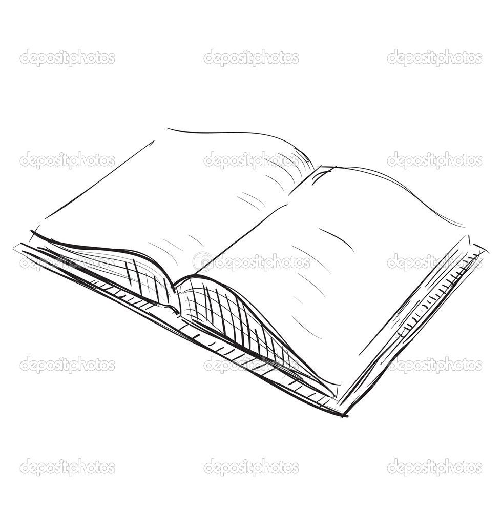 Sketch Open Book Icon Book Icons Pictures To Draw Sketch Book