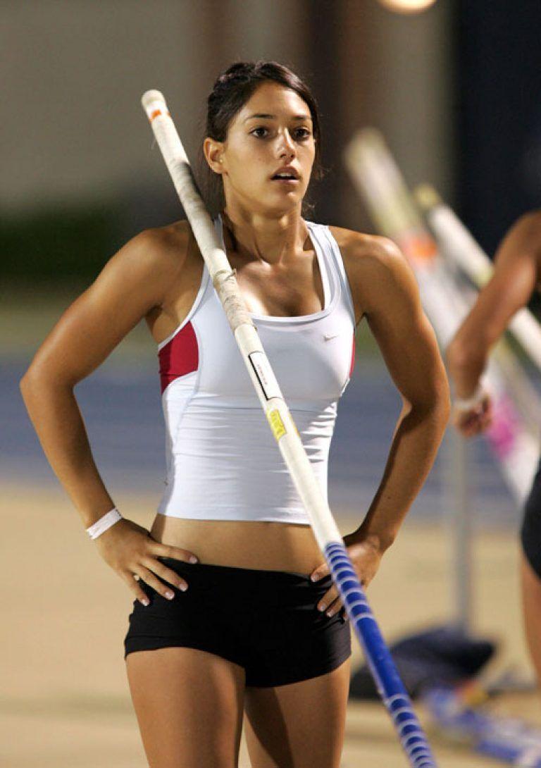 Irina Press sprint runner, 2x Olympic champion (80-m hurdles pentathlon)