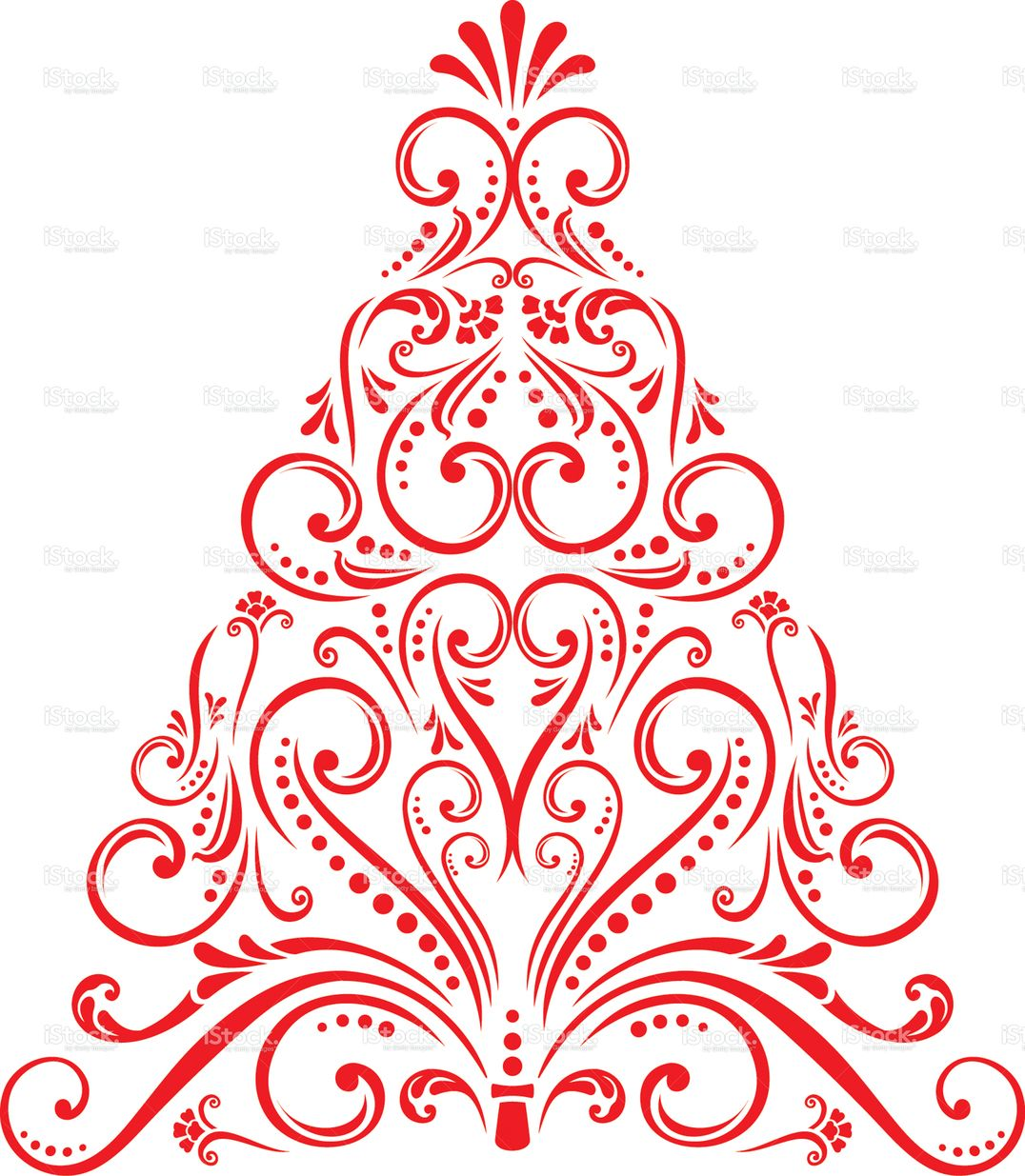 An a vector illustration of christmas tree vector art christmas an a vector illustration of christmas tree bankloansurffo Choice Image