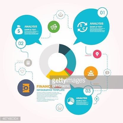 Pie chart and Finance infographic template , Vector - pie chart templates