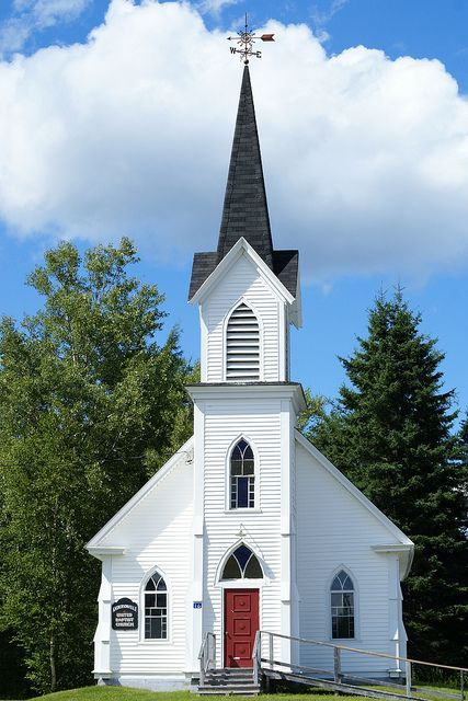 108 365 Old Country Church In New Brunswick Old Country Churches Church Steeple Church Architecture