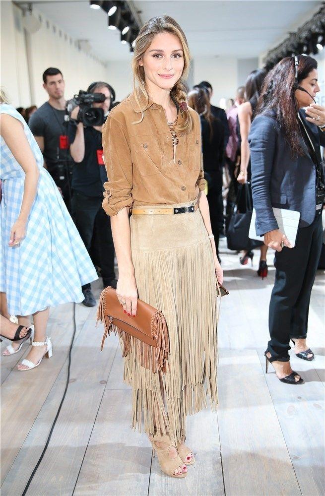d852ff39a4 Los looks de Olivia Palermo en la Semana de la moda de Nueva York ...