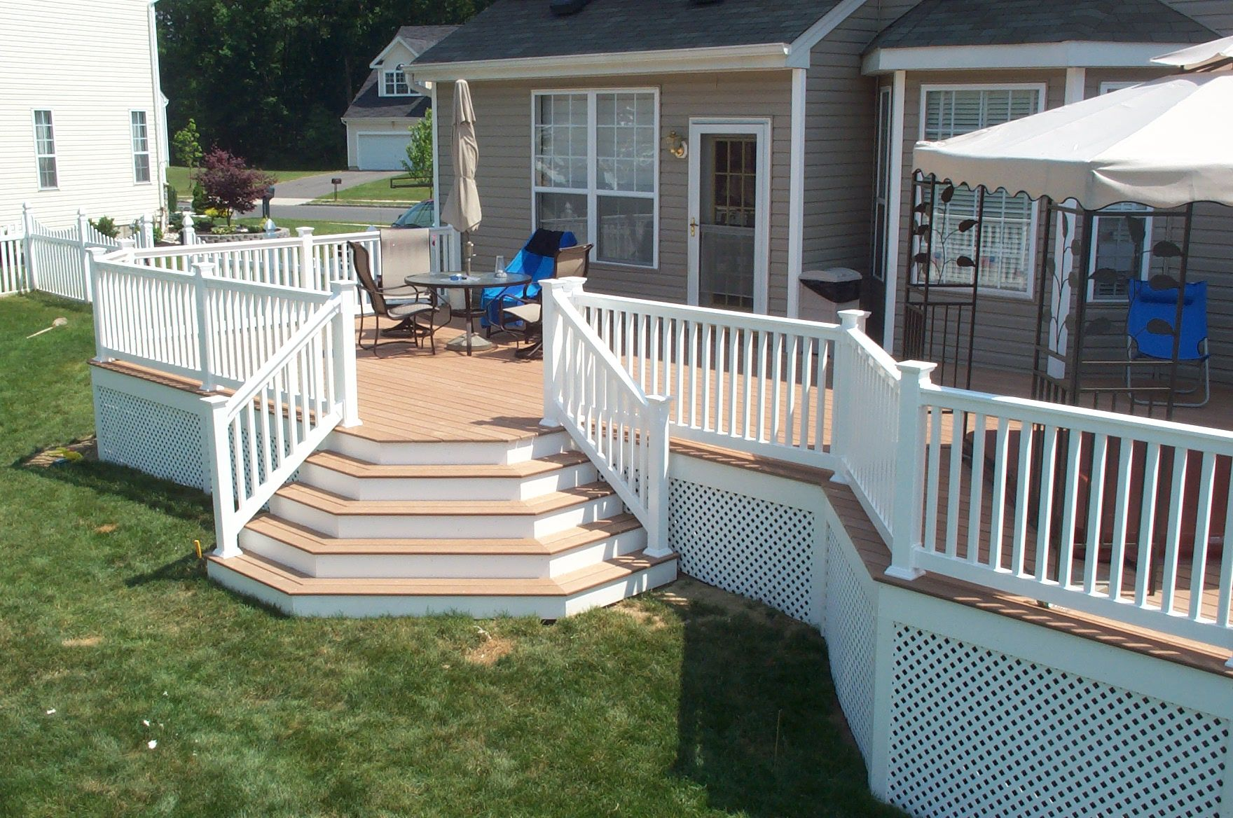 Fix Deck Stairs