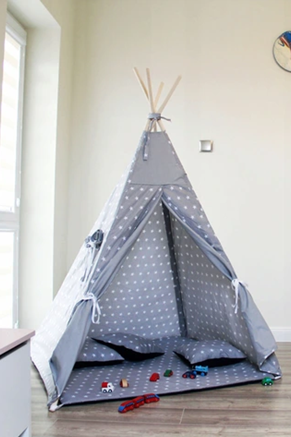 Tipi Namiot Dla Dzieci Wigwam Teepee Toddler Bed Tent Bed
