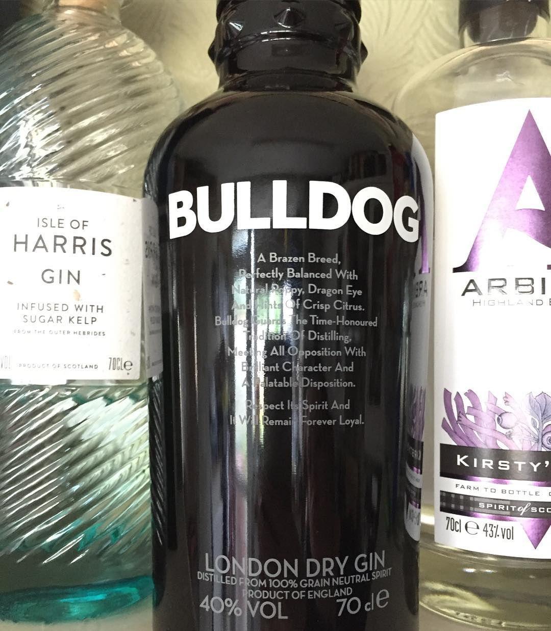 New gin!!! @bulldog_gin  #gin #ginoclock #ginporn #bulldog #londongin