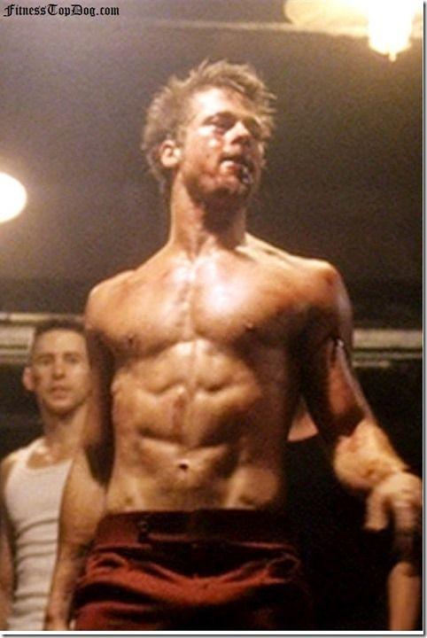 "Brad Pitt's Training Program from the ""Fight Club"" Movie ..."
