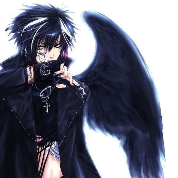 Last Game Anime Angel Anime Guys Dark Anime
