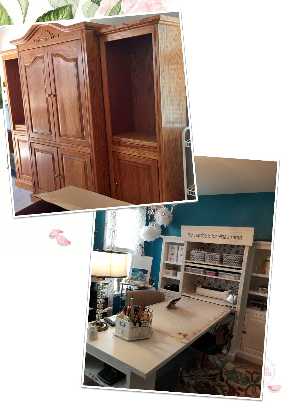 craft room makeover before after room makeover home decor makeover before and after on kitchen organization before and after id=79637
