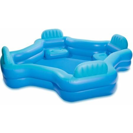 Intex swim center family lounge pool for Albercas intex en walmart