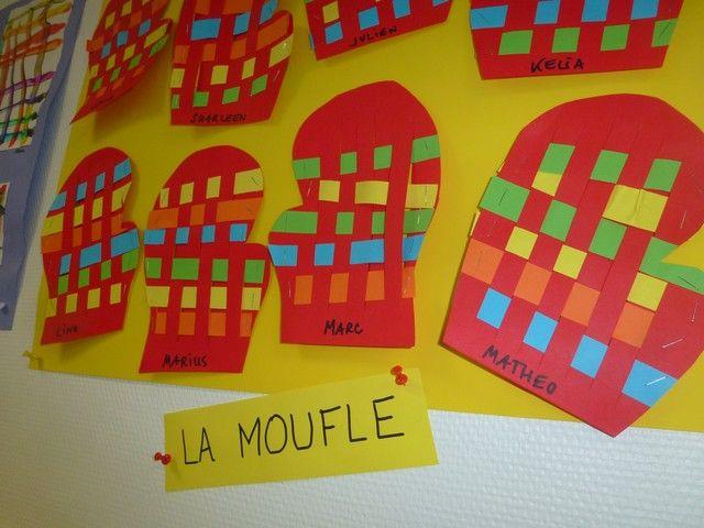 prix officiel grande variété de modèles le magasin Moufle tissé | Hiver | La moufle, La moufle maternelle et Moufle