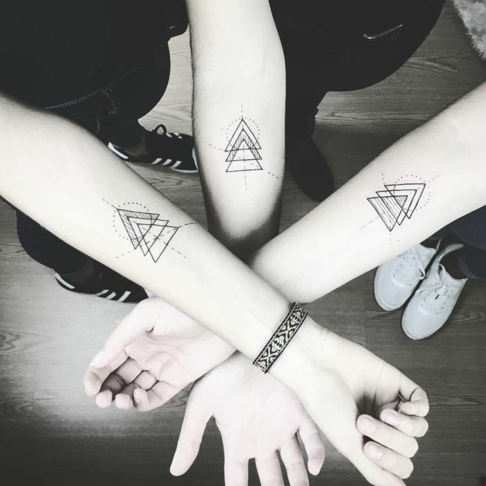 1001 Ideas Diseños Originales De Tatuajes Geométricos Arte En