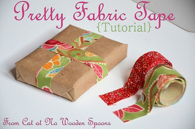 a really awesome way to use up quilting scraps? #fabrictape