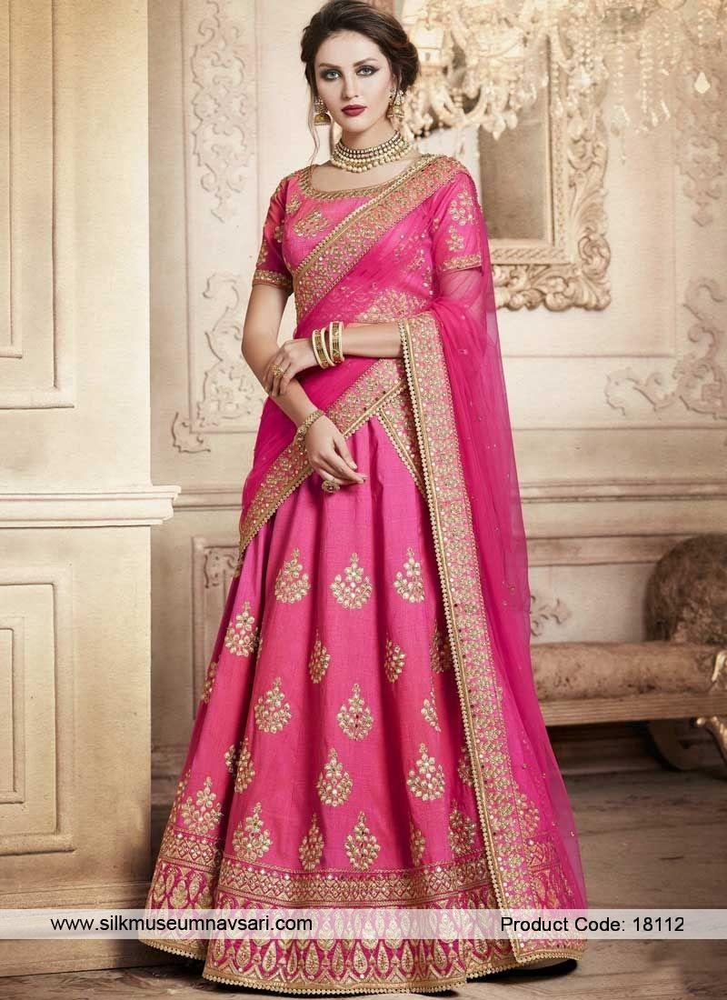 Enchant Dark Pink Wedding Lehenga Choli | Previkwedding2018 | Pinterest