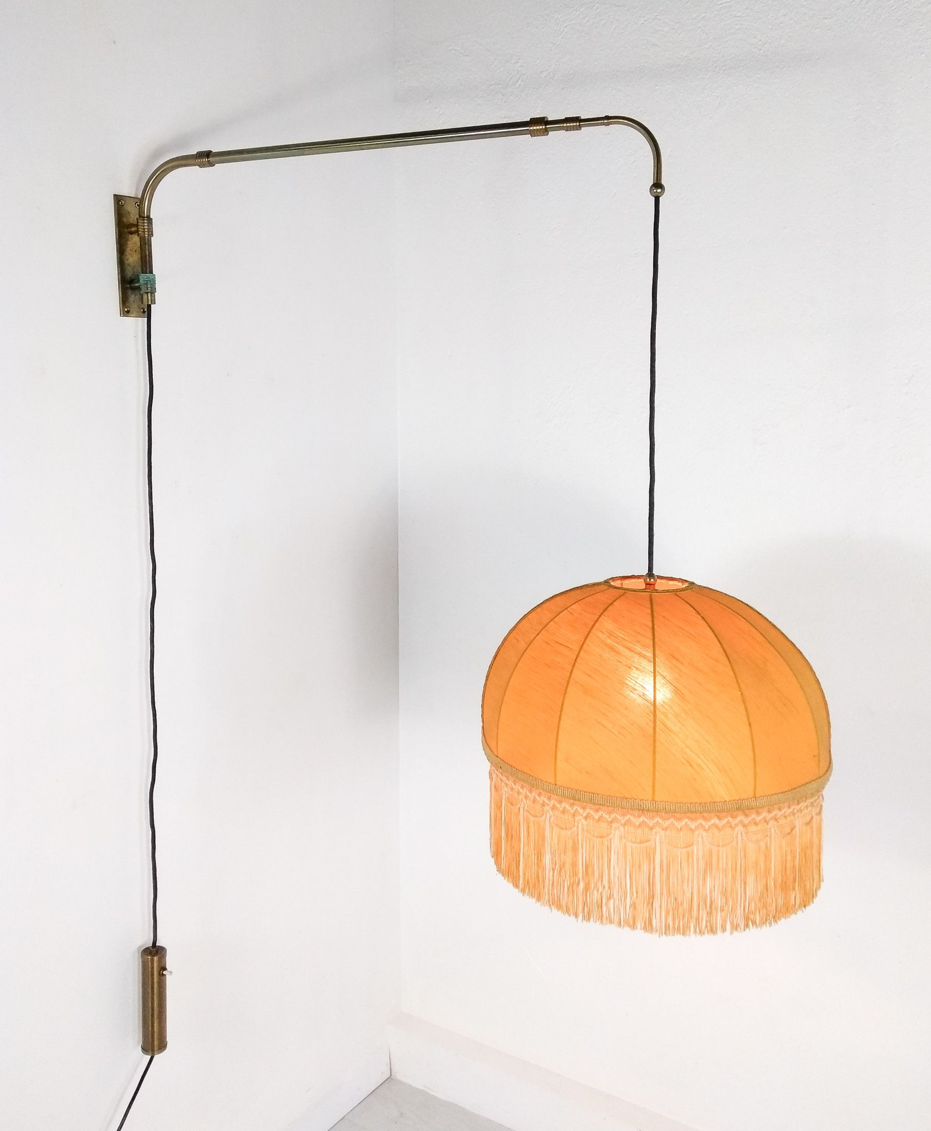 Lampade Da Parete Con Braccio lampada da parete saliscendi, con braccio e altezza