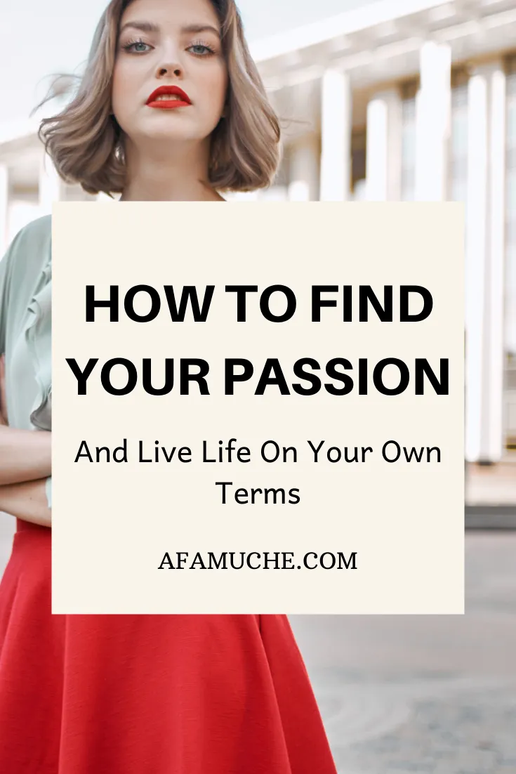 how to find my purpose in life test