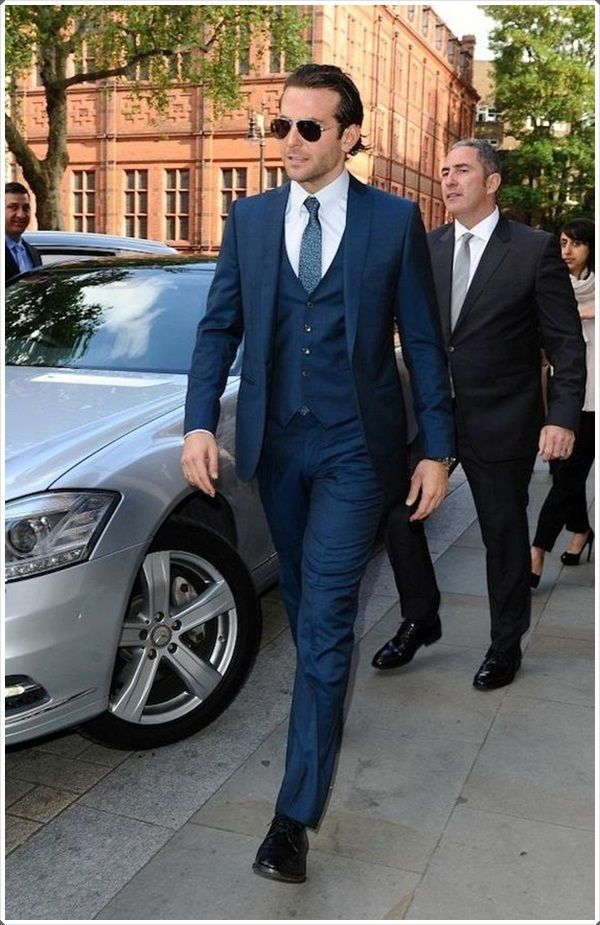 Have A Blue Suit Always Ready For Events