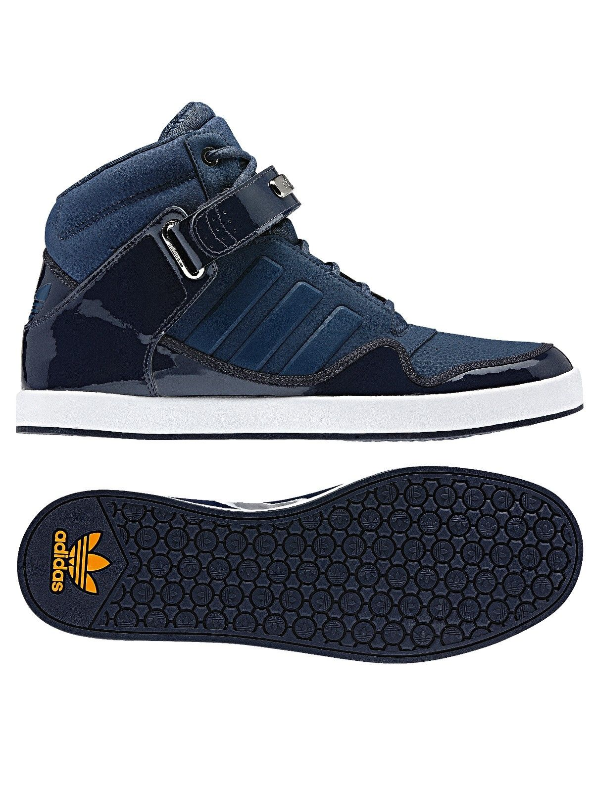 separation shoes bb77b 37e3b adidas Originals adi-rise 2.0 mens Hi Top Trainers   Very.co.uk