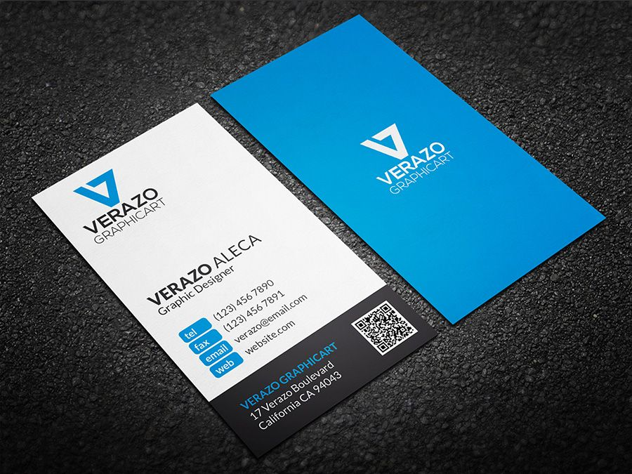 Clean Minimal Business Card by Verazo on Creative Market ...