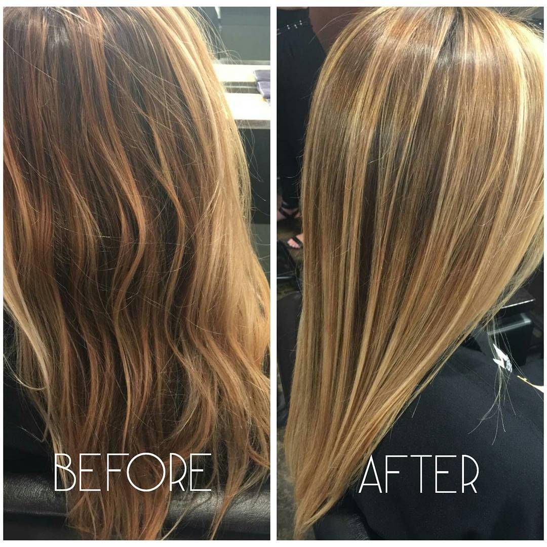 Brazilian Blowout before and after results by Kelly. The Brazilian Blowout treatment is beneficial for those who would like to contain the frizz and cut down on straightening time. Makes hair smoother and silkier. Call 713-572-3100 to schedule your free consultation! Regram via M Salon