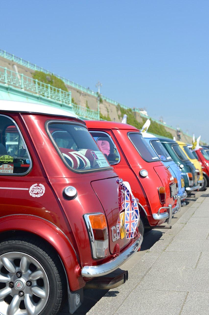 England Mini Car Vehicle Transportation England Mini Car