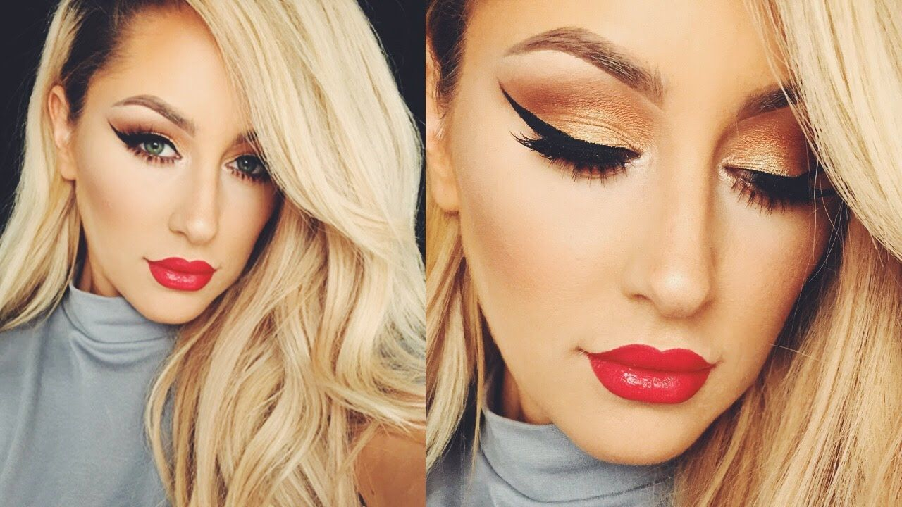 Top 10 Christmas Makeup Ideas you would simply love to try