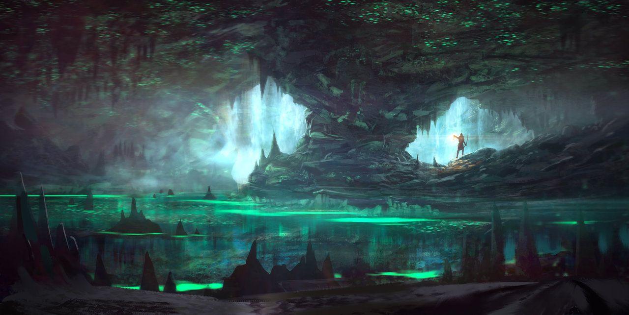 Dark Of Hot Springs Island Digital Map