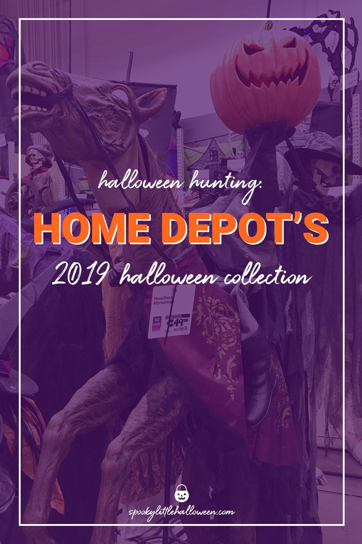 Halloween hunting's hidden gem Home Depot Halloween